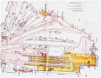 Здание Балтийского вокзала план чертеж