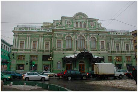 БДТ театр Товстоногова вид снаружи