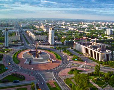Площадь Победы Петербург вид