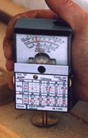 Измерение влагомером БЭИВ-04