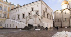 Обследование Грановитой палаты Московского Кремля