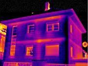 Тепловизионная съёмка фасада